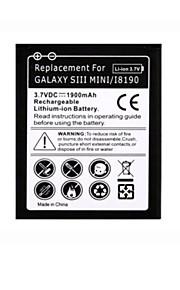 1900mAh mobiele telefoon batterij voor samsung galaxy s3 mini s7562 s7568