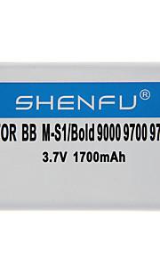 Shenfu 1700mAh mobiele telefoon batterij voor BlackBerry M-S1/Bold 9000 9700 9780