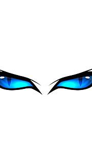 Blue Eye Pattern Decorative Car Sticker