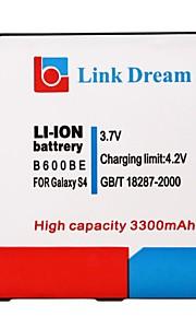 Link Dream High Quality 3.7V 3300mAh mobiele telefoon batterij voor Samsung S4 i9500 I545 I337 L720 M919 R970 (B600BE)
