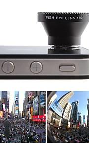 180 gradi obiettivo fish eye per Samsung S3/S4/S5/N7000/N7100/N9000 Cellulari / Cellulari