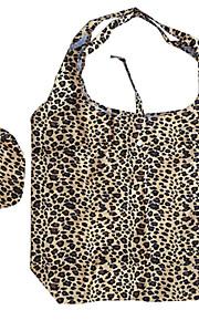 modello del leopardo della stampa eco-friendly pieghevole borsa della spesa