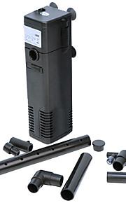 Ultra-quiet 3-IN-1 Internal Filter Air Pump Polyethylene Filtration Equipment(3W, 200L/H)