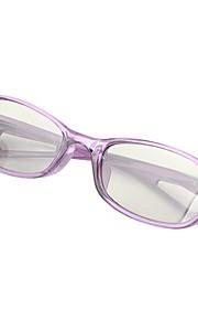 M&K Polarized Light Patterned Retarder Chledren's 3D Glasses for RealD Cinema and 3D TV (Purple)