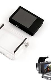 Accessories For GoPro,LCD Display Screen Case/Bags Backdoors Waterproof, For-Action Camera,Gopro Hero 3 Gopro Hero 3+ Gopro Hero 5