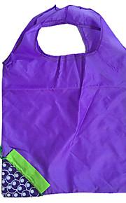 eco-shopping bag design pieghevole blu uva