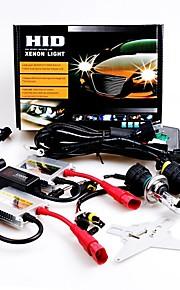 12V 55W H4 High / Low 10000K Slim Aluminum Ballast HID Xenon Headlights Kit