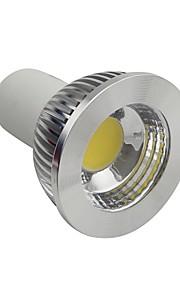 GU10/E26/E27 4.5 W 1 COB 400-450LM LM Varm hvit/Naturlig hvit/Kjølig hvit Dimbar Spotlys AC 110-130 V