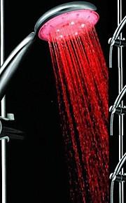 romantisk 15-ledede ledet dusjhodet vann glød lys for bad 3 farger (tilfeldig farge)