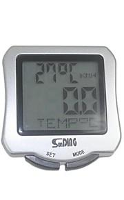 Sunding Bike Computer, Cycling Mini Waterproof Computer Odometer Speedometer Calories