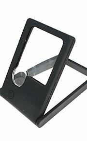 folde dobbelte linser 3x / 7x lup med LED lys (3 x lr927)