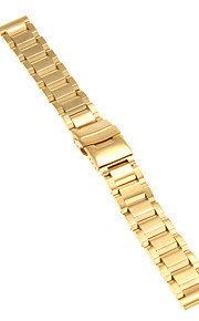 Masculino / Feminino Pulseiras de Relógio Aço Inoxidável #(0.09) #(20 x 2 x 0.3)