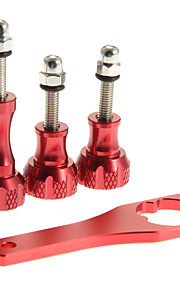 skruenøgle + 1 lang skrue og to korte skruer sæt