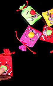 Skub og Laugh smilende ansigt Big Nose Bag Stress-Reliever Practical Joke (tilfældig farve, 10x10x4cm, 1PCS)