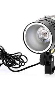 fushi tong-SMD 200 200w fotografia de controle de luz IR portátil flash de estúdio strobe - preto