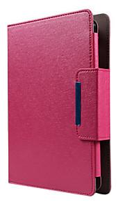 universele 8 inch goud / roze geval met zwarte bluetooth toetsenbord voor talbet pc