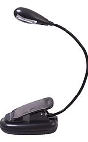 mlsled® 2-ledede fleksibel enarmet mini klipp bærbar bok lys