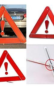 Roadside Reflective Triangle Warning Hazard Sign Safety Car Alarms Emergency