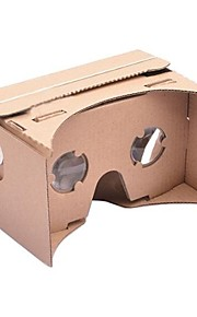 DIY Google Cardboard  Virtual Reality 3D Glasses for iPhone 6 and Google Nexus 6 Samsung Mobile Phones