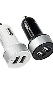 alta quarlity dual-usb caricabatteria da auto per iPhone 6 / 6plus iphone 5 / 5s e altri smartphone e le schede (colori assortiti)