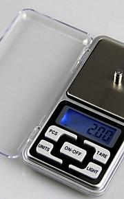 Mini Digital Pocket Scale (500gx0.1g, 2xAAA Battery)