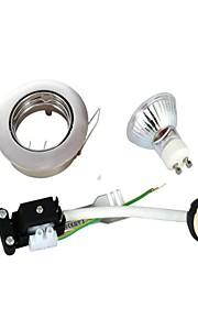 GU10 - 3 Innfelte lamper (Warm White 230 lm- AC 220-240