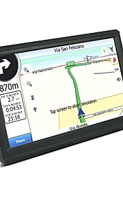 7 inch LCD Touch Screen 800x480 Windows CE 6.0 800MHz CPU FM MP3 MP4 128M RAM Map Car  GPS Navigation