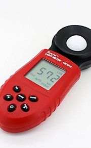 "HS1010 1.8"" LCD Digital lluminance / Light Meter - Red + Black (1lux~200000lux, 3V)"