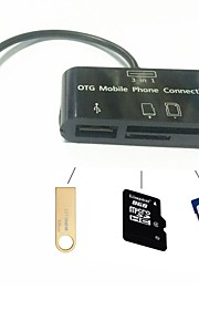 all in one Micro SD Card Reader Adapter Micro USB OTG Cable for OTG Phone