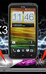 HTC 1 Xのための究極の衝撃吸収スクリーンプロテクター(3本)