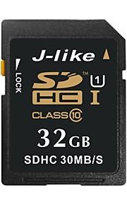 SDXC UHS-I de cartão de memória de 32GB class10 J-like® 30 MB / s