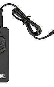 controle remoto com fio kiwi ur-232f para sony a57 A99 A500 A550 A580 A900