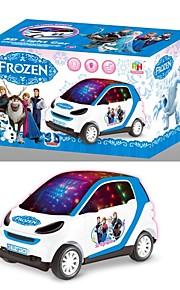 brinquedos elétricos para bateria crianças bonito dos desenhos animados operar carro com música e luz intermitente (No.207)
