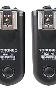 YONGNUO rf-603ii controlador wireless c1 flash para 60d / 600d / 550d / 650D / 450D