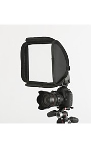 modificador de luz softbox para a câmera