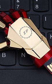 zp 16gb iron man de hand patroon metalen stijl usb flash pen drive