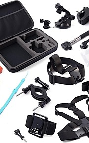 Gopro Accessories Mount/Holder / Lens Cap / Gopro Case/Bags / Screw / Battery / Buoy / Suction / Hand Grips/Finger Grooves ForGopro Hero