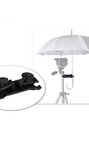 álamo SLR guarda-chuva câmera clip sol-shading clipe amarrado do lado acessórios fotografia tripé emperorship