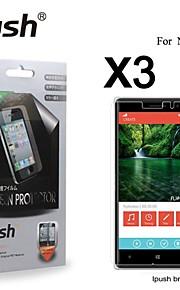 노키아 830에 대한 높은 투명성 HD LCD 화면 보호기 (3 개)