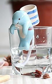 neje auto plantadores de plantas regar animais - golfinho com o copo