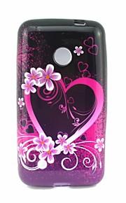 Para Funda Nokia Diseños Funda Cubierta Trasera Funda Corazón Suave TPU Nokia Nokia Lumia 530
