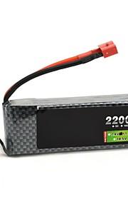 leão neewer® 3s poder 11.1v 2200mAh 30c max 35C 3s1p bateria akku lipo para rc helicóptero