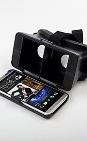 BeBonCool Cardboard Head Mount Plastic Version Virtual Reality 3D Video Glasses for HTC One