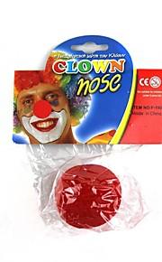 spille klovn rød næse
