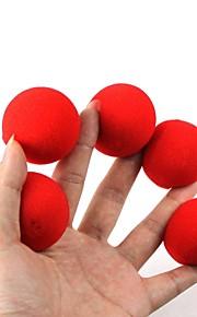magiske rekvisitter - red svamp kugler (5 stk)