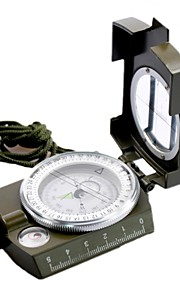 Outdoor Use Military Geology Pocket Multifunctional Professional Army Green Metal Compass