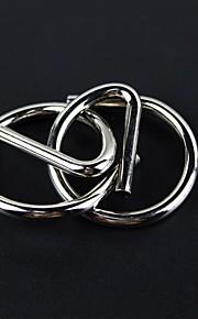 uddannelsesmæssige unlock ring puslespil legetøj - sølv