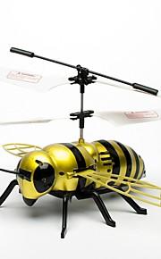 justone zangão j063 2-ch abelha estilo ir r / c helicóptero ao ar livre