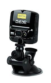 "Rich 1080P  Car Dvr 30fps Full HD Car Dvr 5.0Mega Pixel 128°Wide Angle Lens 2.4""LCD Screen"
