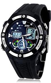 Choque SKMEI ® Homens Sports Multifunction resistente Zona Dual Time relógio de pulso à prova d'água 30m cores sortidas